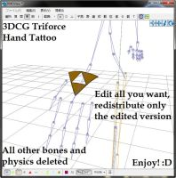 MMD Download ~Triforce Hand Tattoo~ by swiftcat-mooshi