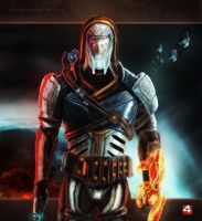 Mass Effect  - New Savior Of The Galaxy  by CaNDiDeR