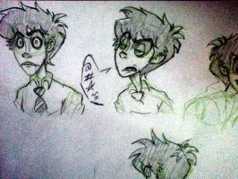 Mr.Hyde Sketches by BabyPhat268