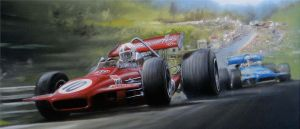 Spa-Francorchamps 1970 F1 GP by donpackwood