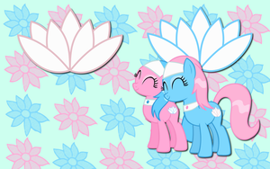 Aloe and Lotus WP by AliceHumanSacrifice0