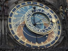 Prague Astro Clock by Amor-Fati-Stock