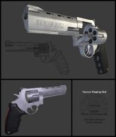 Taurus Raging Bull by MichaWha