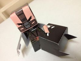 Bane TDKR Paper Toy by papertoyadventures