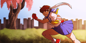 run sakura run by thanoodles