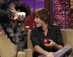 Zira tempts Ryuk with an apple by ehswildcats
