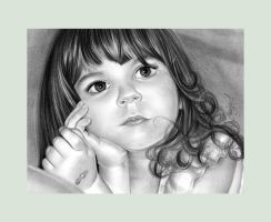 ...--Pencil Drawing--... by emizael