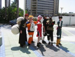 Naruto Cast 03 Cosplay by Knightfourteen