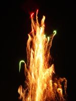 Firework Fountain by Liburnica