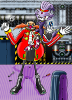 Eggman, the Dollmaster 1 by RaianOnzika