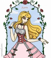Aurora of Sleeping Beauty by insomniel