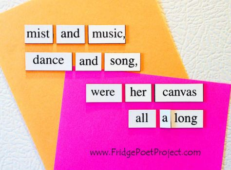The Daily Magnet #232 by FridgePoetProject
