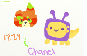 Izzy and Chanel: Crayola Style by ChammiBee