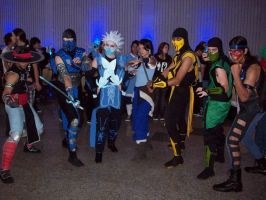 Group Mortal Kombat by AndroideDezoito