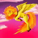 Princess of flaming speed by Phenri