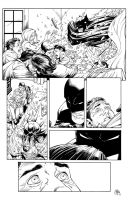 Inks - Batman15 page19 by Greg Capullo by adr-ben