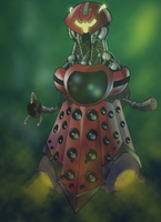 Bike-Dalek Hybrid by xShaneoiDx