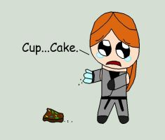 Katey Dropped Her Cupcake by TheArgoNinja