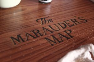 Marauder's on Table by ProfBell