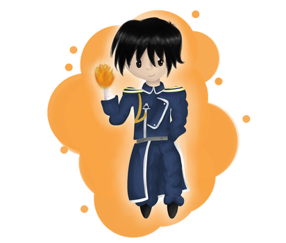 PC - Roy Mustang - Detective-MAY by PikaPauline