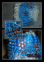 Chainmail Dice bag by Swordgleam