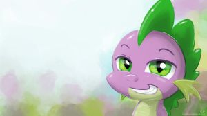 Spike Portrait by KP-ShadowSquirrel