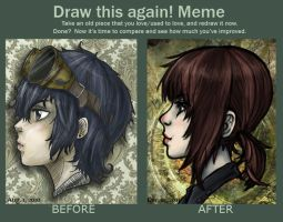 Draw This Again Meme by lawlietlk