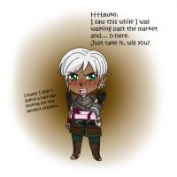 Fenris for Billini by koogee4