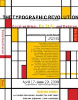 Typographic Revolution by maxamusholden