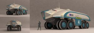 Planetary Rover by Esquel