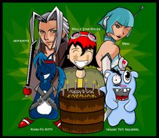 Happy Birthday Enerjak by J-Prime