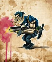 The Punisher by daawg