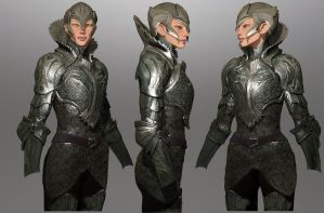 ravine- process shot for lynn's winter armor by nebezial