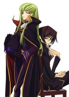 CC and Lelouch Trade Places by Slim101