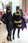 Catwoman and Batgirl by Rebel-Cross-Fire