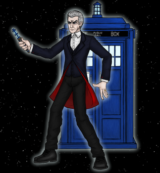 12th Doctor With Tardis by ramisirote