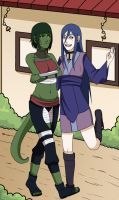 CM: Walk in Konoha by Chloeeh