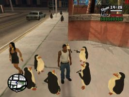 Pom in Gta - 11 Penguins by fionalover