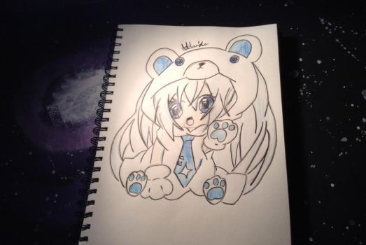 :ChibiPolarBear!: by ArtEveryday4ever