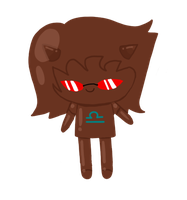 Chocostuck: Choco-Terezi by to-much-a-thing
