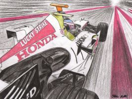 Jenson Button - Honda RA106 by I-W-E