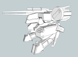 SketchUp Project: REX 5 by RazielGardel