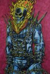 Ghost Rider by DustyPaintbrush