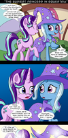 The Busiest Princess in Equestria by DeusExEquus
