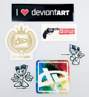 Official dA Sticker Pack II by deviantARTGear