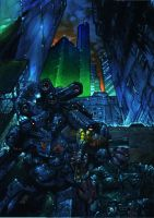 shadowrun by olaflogic