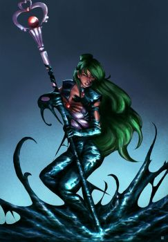 Sailor Pluto Symbiote by cric