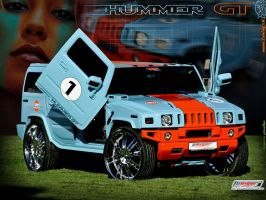 Hummer H2 tuning Wallpaper by TuningmagNet