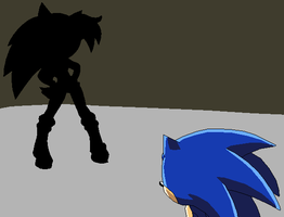 CoI Screenshot: Sonic and the mysterious new foe by MollyKetty