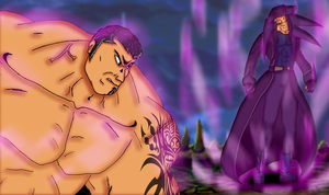 Batista vs The Undertaker by scrik